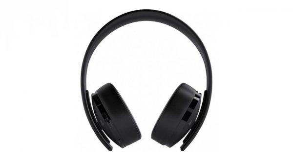 هدفون بی سیم مدل Gold Wireless Headset New