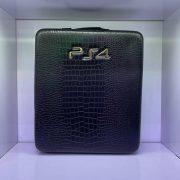 کیف ضدضربه PS4 Pro طرح چرم مشکی