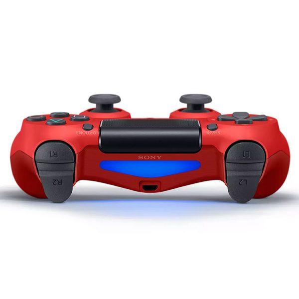 دسته بازی بی سیم مدل Dualshock 4 Red قرمز مناسب برای PS4