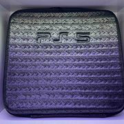 کیف کنسول بازی PS5 طرح پوست ماری چرمی