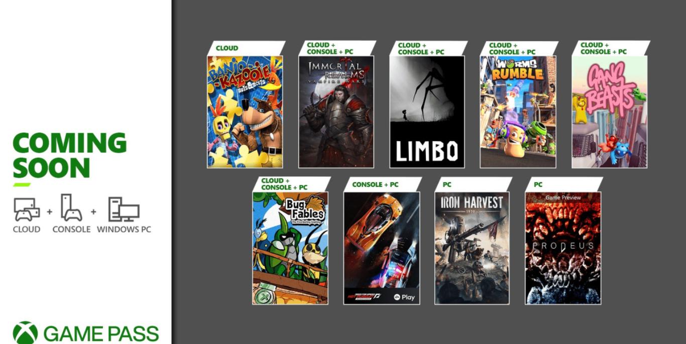 لیست بازی های Xbox Game Pass اواخر ژوئن 2021