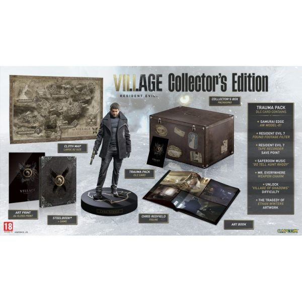 خرید بازی Resident Evil Village نسخه Collector's برای PS5