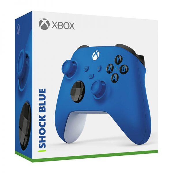 دسته بازی ایکس باکس Xbox Series X / S Controller Shock Blue آبی رنگ