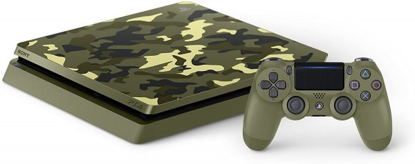 پلی استیشن ۴ اسلیم تک دسته ۱ ترابایت PS4 Slim 1TB-R2-CUH 2116B Call Of Duty