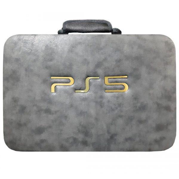 کیف کامل کنسول بازی PS5 رنگ خاکستری