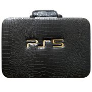 کیف کامل کنسول بازی PS5 رنگ مشکی پوست ماری
