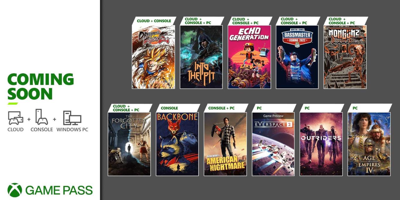 عنوان Xbox Game Pass اواسط اکتبر 2021 – شامل Age of Empires 4